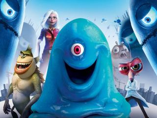 обои Monsters Vs Aliens фото