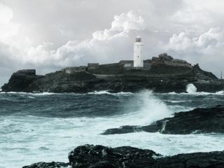 обои Island Lighthouse фото