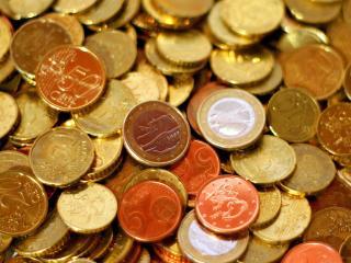 обои Монеты евро центы фото