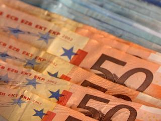 обои Бумажные деньги 50 евро фото