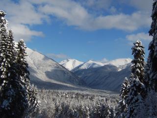обои Пейзаж горный зимний фото