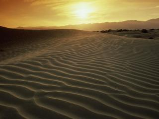 обои Sandy Ripples at Sunset,   Death Valley,   California фото
