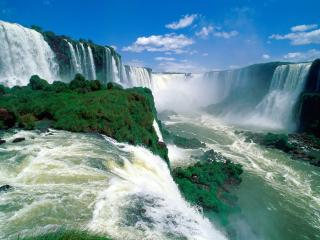 обои Водопад Игуассу фото