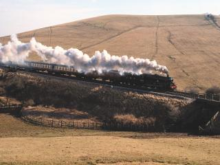 обои Alderman A E Draper Steam Locomotive фото