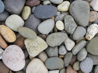 обои Гладкие морские камни фото