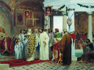 обои Крещение князя Владимира фото