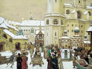 обои Площадь Ивана Великого в Кремле фото