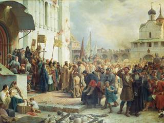 обои Осада Троице-Сергиевой лавры фото