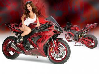 обои Yamaha YZR-R1 фото