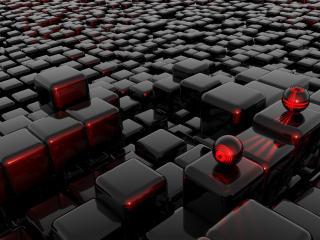 обои Стильные кубики фото
