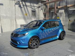 обои Dacia Sandero Tuning фото