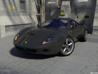 обои Ferrari Figaro Concept фото