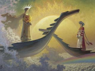 обои У небесного причала и другие картины фото