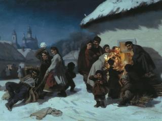 обои Колядки в Малороссии фото