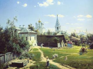 обои Московский дворик фото