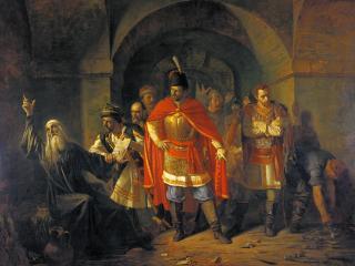 обои Патриарх Гермоген отказывает полякам подписать грамоту фото