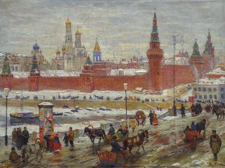обои Старая Москва фото