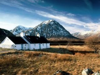 обои Горы Шотландии фото