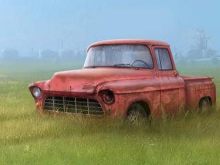 обои Старый кузов фото