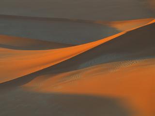 обои Тени на песке в пустыне Намиб фото