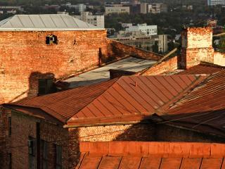 обои Крыши под солнцем фото