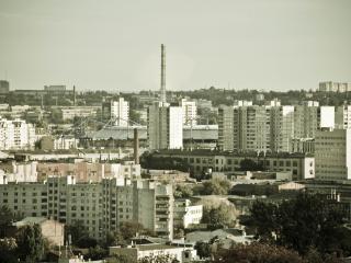 обои Индустриальный город фото