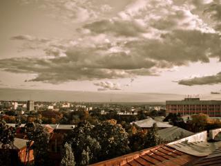 обои Небо над городом фото