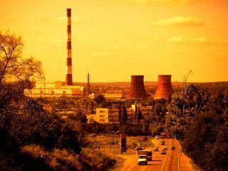 обои Харьковская ТЭЦ фото