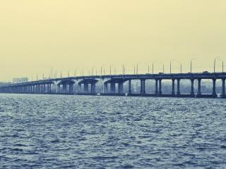 обои Мост через Днепр фото
