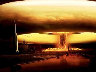 обои Атомный взрыв фото