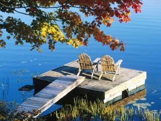 обои Adirondack Chairs,   Starlight,   Pennsylvania фото