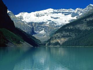 обои Озеро Луиз фото