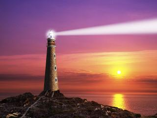 обои The Coastal Lighthouse фото