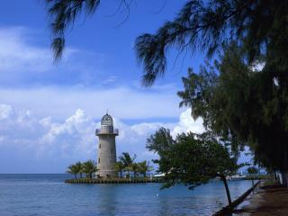 обои Boca Chita Lighthouse,   Biscayne National Park,   Florida фото