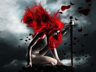 обои Fantasy Red Sonja фото