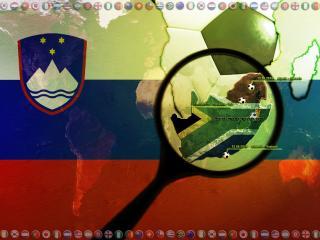 обои Чемпионат мира по футболу FIFA World cup 2010   Словения фото