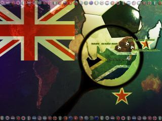 обои Чемпионат мира по футболу FIFA World cup 2010  Новая Зеландия фото