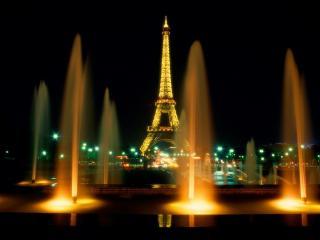обои Парижские фонтаны фото