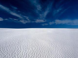 обои Белый песок пустыни фото
