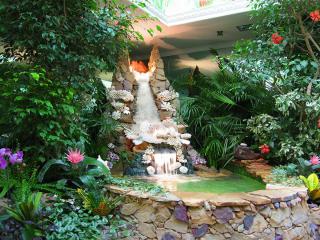обои Райский уголок в саду фото