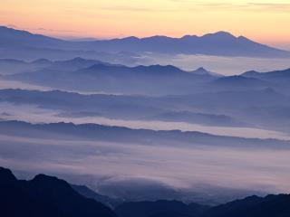 обои Бархатистые вершины фото