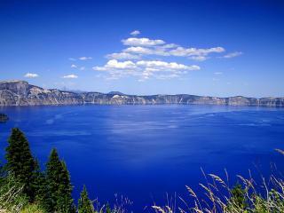 обои Вулканическое озеро фото