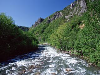обои Гималайская горная река фото