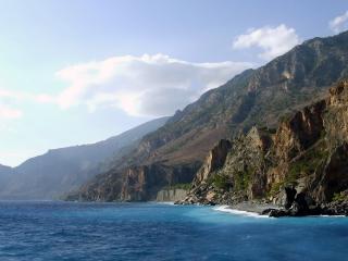 обои Голубой залив фото
