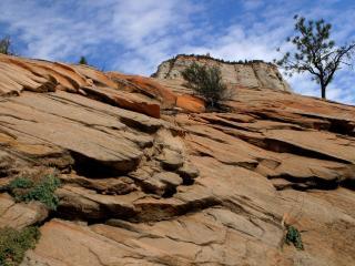 обои Гора крепость фото