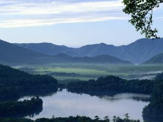 обои Далёкое озеро фото
