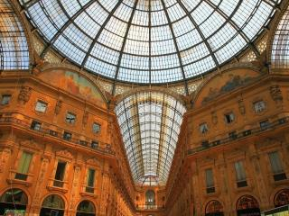 обои Galleria Vittorio Emanuele II,   Milan,   Italy фото