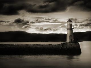 обои Dark Lighthouse фото