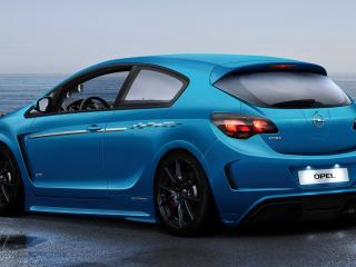 обои Opel Astra Coupe спорт фото