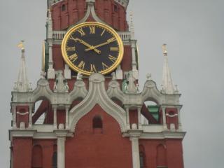 обои Часы на башне Кремля фото